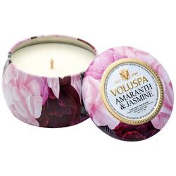 Voluspa amaranth and jasmine candle