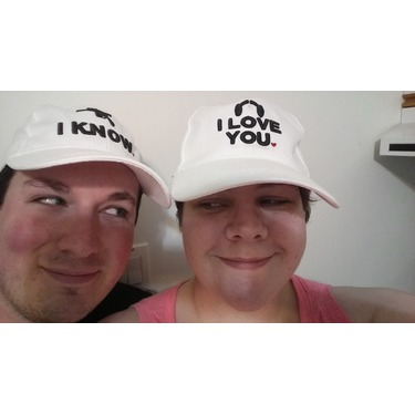 Zzp White I Love You I Know Embroidered Men Womens Unisex Adjustable Baseball Cap