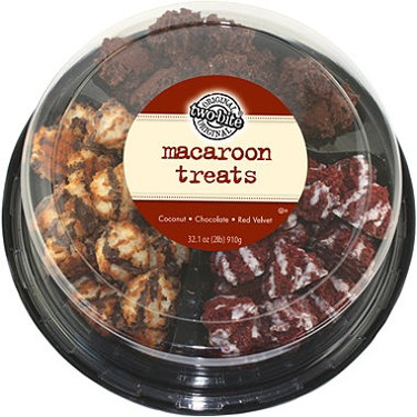 two-bite Macaroon Treats Variety Party Tray