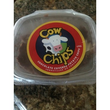 Cows chocolate covered chips