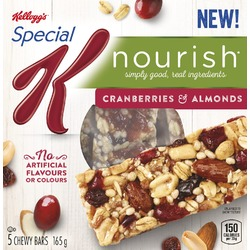 Special K Nourish Cranberries and Almonds