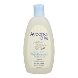AVEENO Baby Lightly Scented Natural Oat Formula Wash & Shampoo