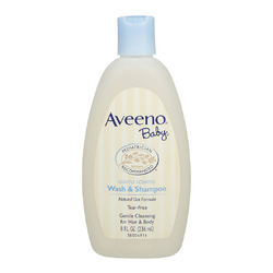 AVEENO Baby Lightly Scented Natural Oat Formula Wash & Shampoo