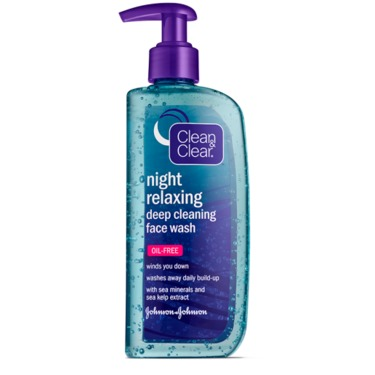 Clean & Clear NIGHT RELAXING™ Deep Cleaning Face Wash