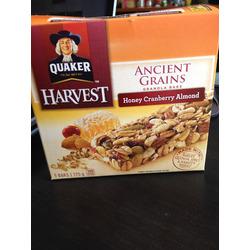 Quaker Harvest Ancient Grains Honey Cranberry Almond