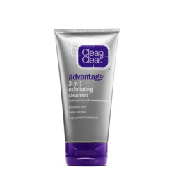 Clean & Clear Advantage 3-in-1 Exfoliating Cleanser