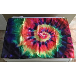 Colorful Tie Dye Two Sides Rectangle Zippered Pillowcase Pillow Cover