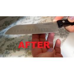 3 Stage Knife Sharpener by Quick Cocinero