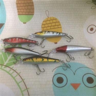 Relefree 5pcs/set Fishing Lures