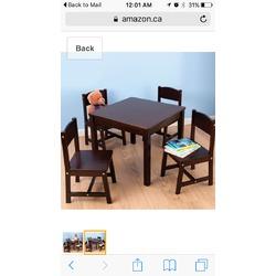 Kidkraft barn house table
