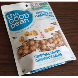The Good Bean Chickpeas - Original Salted