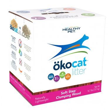 ökocat Soft Step™ Wood Clumping Cat Litter