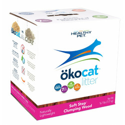 ökocat Soft Step™ Wood Clumping Cat Litter
