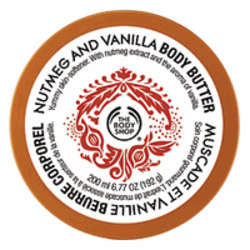 The Body Shop Nutmeg and Vanilla Body Butter