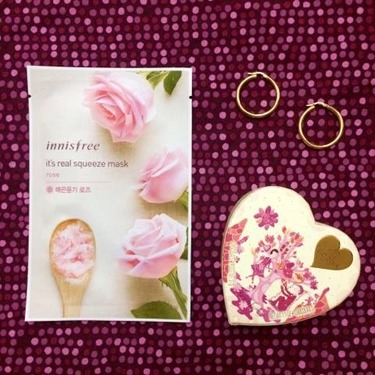 Innisfree My Real Squeeze Mask EX Rose