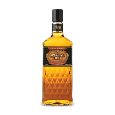 Walkers special old rye whisky