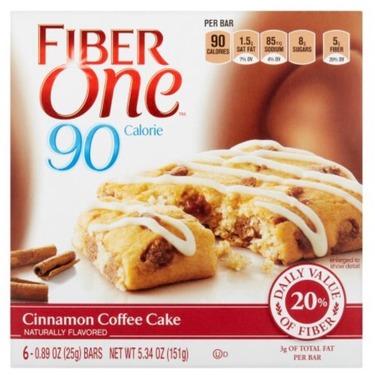 Fibre One Cinnamon Bun Flavour