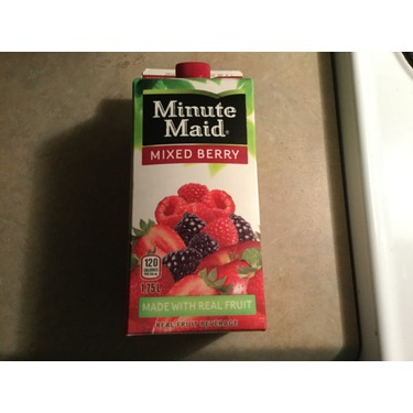 Minute Maid mixed berry