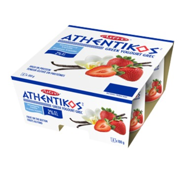 Astro-Athentikos Greek Yogurt, Strawberry Vanilla