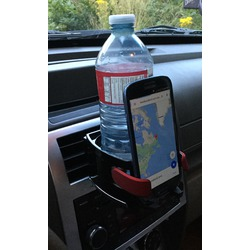 Bestek smart drink & phone holder combo