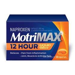 Motrin MOTRIMAX™ 12 Hour Liquid Gels