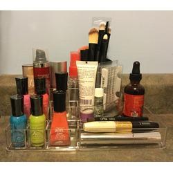 MelodySusie® Acrylic Jewelry and Cosmetic Storage Makeup Organizer