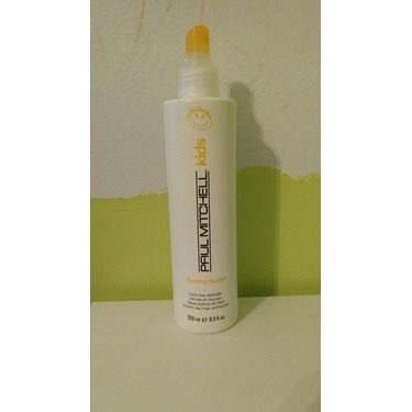 Paul Mitchell taming hair spray for kids