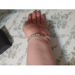 UMODE Jewelry 0.5 Carat Round Cut Clear Cubic Zirconia CZ Tennis Bracelet For Woman