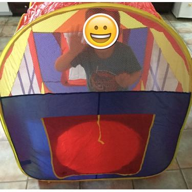 EchoAcc® Large Space Indoor and Outdoor Play Tent Children Game House Playhouse With 2-Doors
