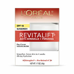 L'oreal revitalift anti-wrinkle and firming day cream