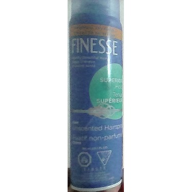 Finesse Superior Hold Unscented Hairspray