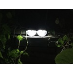 Solar Fence Post Lights OTHWAY Wall Mount Decorative Deck Lighting Black