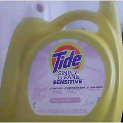 Tide Simply Clean & Sensitive Cool Cotton Laundry Detergent