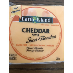 Earth Island Dairy-free Cheddar Style Slices