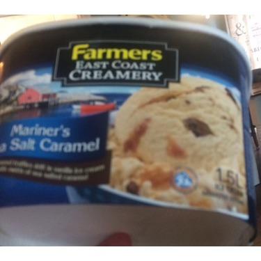 Farmers east coast creamery Mariners sea salt caramel