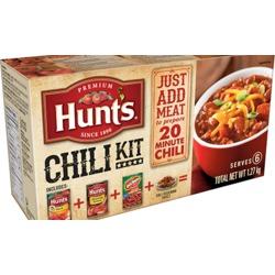 Hunts Chili Kit