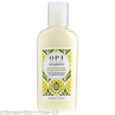 Opi avojuice sweet lemon sage hand and body lotion