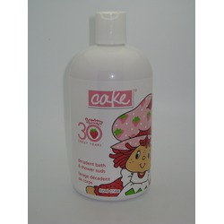 Cake Beauty Strawberry Shortcake Decadent Bath and Shower Suds