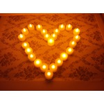 OFKP Longest Lasting Battery Operated Flickering Flameless LED Tealight Candles (Pack of 24)
