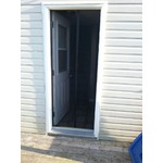 Omore magnetic screen door