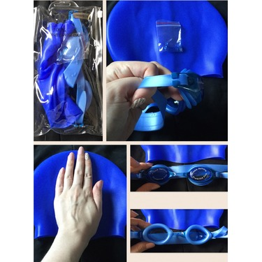 OMore Kids Swim Kit Swim Goggles and Swim Cap