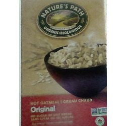 Natures Path Organic Hot Oatmeal