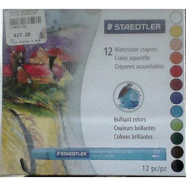 Staedtler Watercolor Crayons
