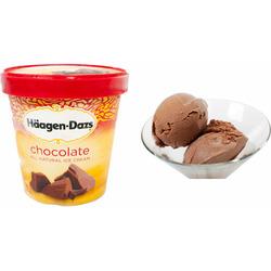 Häagen-Dazs Belgian chocolate ice cream