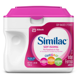 Similac Isomil Soy Protein Infant Formula