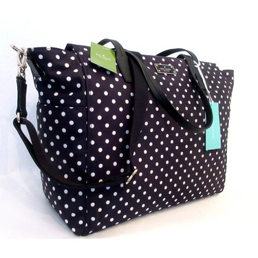 Kate Spade Taden Blake Avenue Polka Dot Diaper Bag Reviews