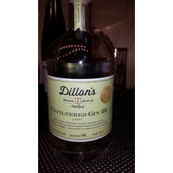 Dillan's Small Batch Unfiltered Gin 22
