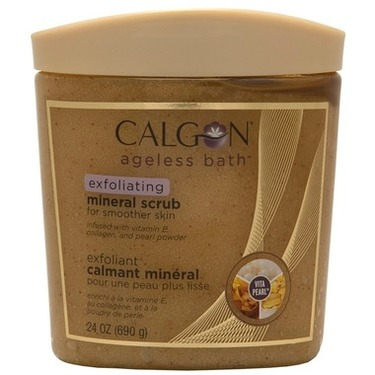 Calgon Ageless Bath Exfoliating Mineral Scrub and Soak