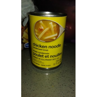 No Name Chicken noodle condensed soup