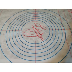 OFKP 40x60cm Silicone Non-Stick Baking Mat with Measurements